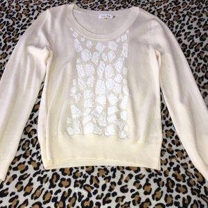Calvin Klein leopard sweater
